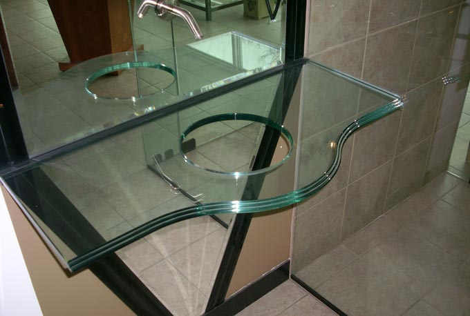 Ordinaire Sample   Custom Glass Project