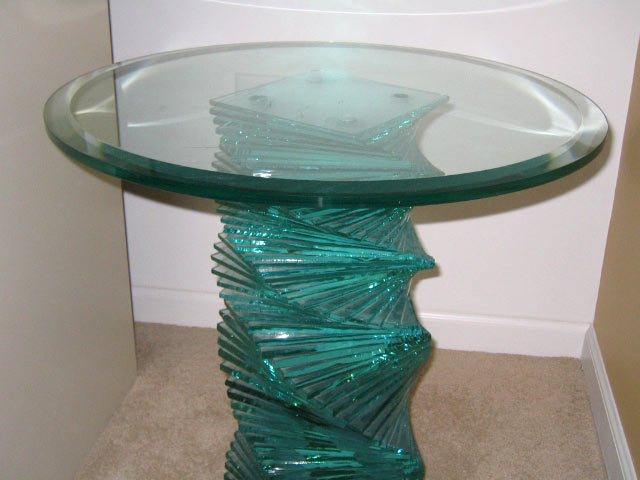 Sample   Custom Glass Table