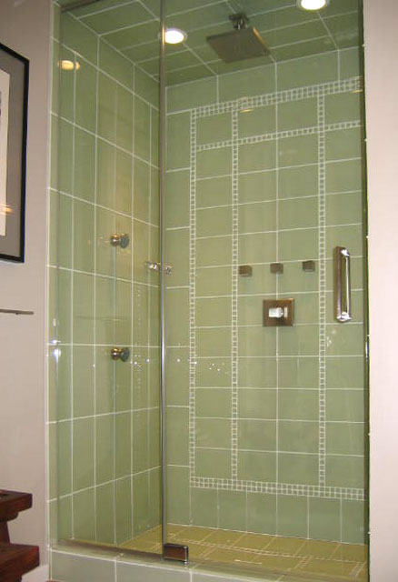 standard and custom frameless glass shower doors