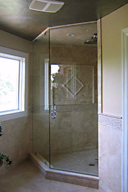 Frameless Glass Shower Enclosures in Chicago Naperville and Downers ...