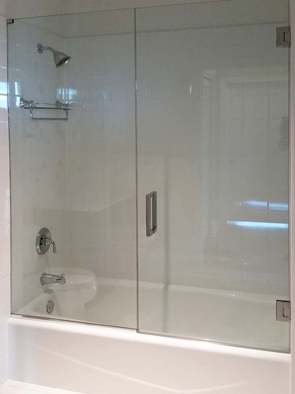 Frameless Glass Tub Enclosures In Chicago Naperville And