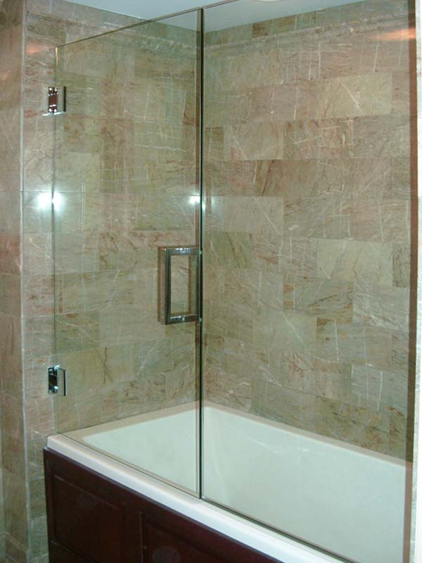 Frameless Glass Tub Enclosures in Chicago Naperville and Downers ...