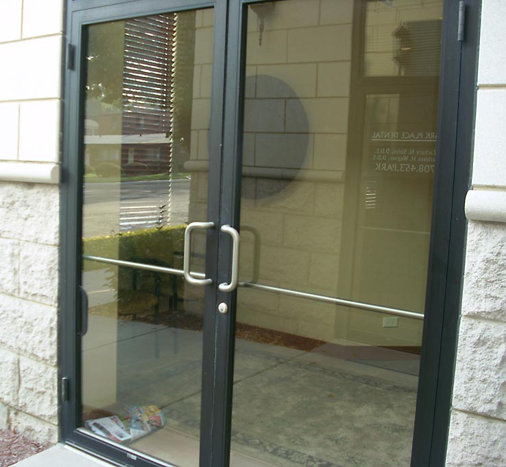 Commercial Glass Storefront Doors Chicago Il - Central Glass