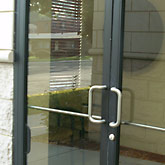 Custom Glass Store and Office Fronts and Doors
